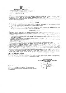 Ovlaštenje MUP-a za ispitivanje stabilnih sustava za dojavu i gašenje požara